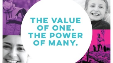 The Value of One.  The Power of Many.
